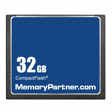 32Gb 32G Oem Compact Flash Cf Memory Card 100% Genuine f/ Nikon Canon Sony