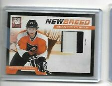 2011-12 11-12 Elite New Breed Sean Couturier Patch # 6/25 Flyers CARD