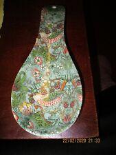 dise/ño de pavo real Leonardo Collection Soporte para cucharas
