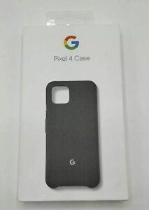 NEW Sealed Genuine Google Pixel 4 Case - Black #b43