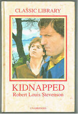 KIDNAPPED by Robert Louis Stevenson, Classic Book, Unabridged, Hardcover 1990