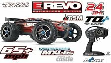 Traxxas E-Revo Brushless 4WD 2.4GHz TQi Wireless Stabi (TSM) neueste Version TRX