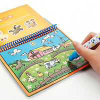 Pintura tabla Magia Doodle Dibujo del libro Agua Folleto para colorear
