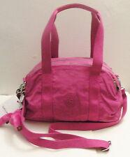 NWT Kipling Brooke Satchel Purse Hand Bag Very Berry