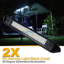 2X 12V LED Awning Light RV Camper Trailer Boat Exterior Camping Bar Lamp Cool W
