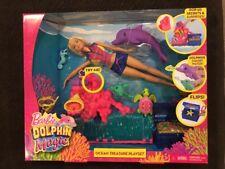 Barbie Dolphin Magic Ocean Treasure Playset NEW IN BOX
