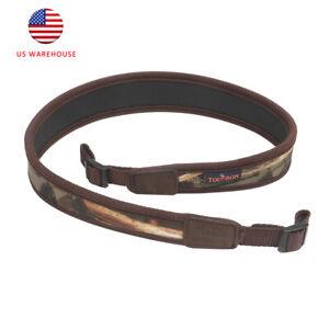 Tourbon Neoprene Shotgun Sling Hunting Camo Gun Shoulder Strap Soft Padded