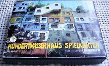 Piatnik Wien Austria - Romme Canasta - Künstler Hundertwasser - haus