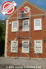 Aluminium Scaffold/Scaffolding Tower/Towers/Platform - EU made - 7m reach height