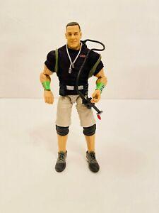WWE Mattel Elite Series Ghostbusters John Cena Wrestling Figure Displayed Only