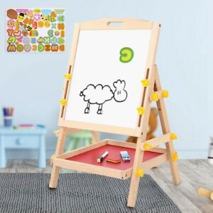 Kids Drawing Board Art Easel Double Side Magnetic Easel Children Chalk Board