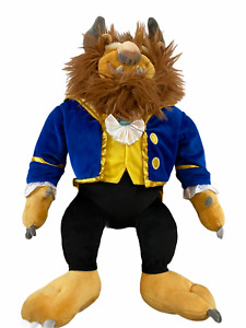 "Disney Parks Beast 21"" large Stuffed Plush Toy Beauty & The Beast!!"