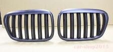 Front Grille Grills Matte Black X5 Look for BMW E39 97-03