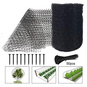 Deer Fence Netting, 7 x 100 Feet Bird Netting Heavy Duty Anti Bird Deer Net for