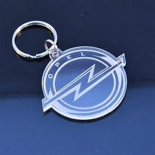 Opel Car Badge Keyring - Handmade Laser Cut Gift
