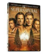 Supernatural Season 15 (DVD,5-Disc Set)Brand New & Sealed Free Shipping