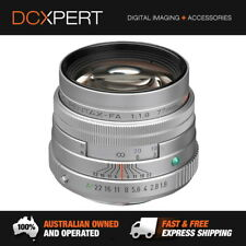 PENTAX FA SMC 77MM F1.8 LIMITED EDITION LENS – SILVER