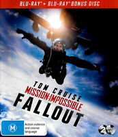 Mission: Impossible Fallout - Rare Blu-Ray Aus Stock -Excellent