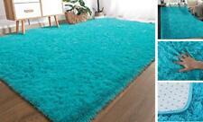 YOH Modern Soft Shaggy Fur Area Rug Fluffy Bedroom Rugs, Non-Slip Indoor Comfy P