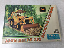 Ertl 1:25th scale John Deere 310 backhoe/loader model kit #8015