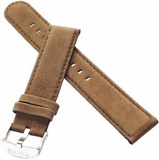 TIMEX Watch Strap Band  for T2N697 Classic Genuine Leather Nubuck 20mm  Original