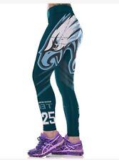 Philadelphia Eagles L/XL (8/10-12) leggings #25 Philly football Blue Green