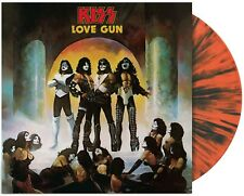 Kiss - Love Gun Exclusive Limited Edition Tangerine Aqua Splatter Vinyl LP
