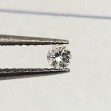 0.03 ct %100 NATURAL DIAMOND ROUND BRILLIANT CUT SI LOOSE FREE SHIPPING