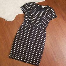 Forever 21 Rockabilly Retro Fitted Polka Dot Dress Medium