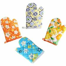 Cooking Insulated Resistant Heat Proof Gloves Microwave Oven Mitts Kitchen