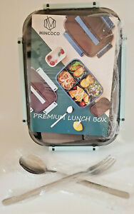 MINCOCO Premium Bento Leak-Proof Lunch Box for Adults - Mint Green