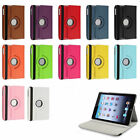 360 Rotating Leather Folding Case Skin Smart Cover Stand for Apple iPad 2 3 4