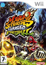 Super Mario: Mario Strikers Charged Foot Ball Wii Game