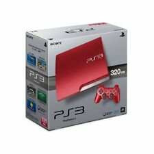 PS3 320GB Console Limited Edition RED+ 2 RED Controllers AUS *NEW!* + Warranty!