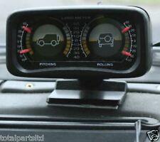 OFF ROAD AUTO 4x4 Clinometer Inclinometer Dash Mount