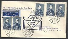Netherlands 1933 Catapult Flight s.s.Bremen to New York