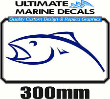 Berkley Blue Fish 300mm Decal, Toolbox, Tackle Box, Kayak Sticker