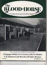 Blood Horse Secretariat is DQ'ed in Champagne-Cougar II