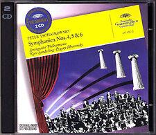 Evgeny Mravinsky & Kurt Sanderling: Tchaikovsky Symphony 4 5 6 DG 2cd Leningrado
