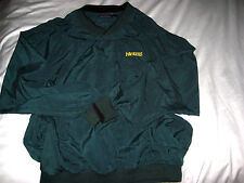 GREEN BAY PACKERS ANTIGUA EMBROIDERED GOLF WIND SHIRT JACKET-2 POCKET-LINED- L
