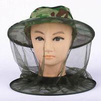 Moskito Kopfnetz Insektenschutz Netz Hut Moskitonetz Schutz Hat Angeln Hat K7L3
