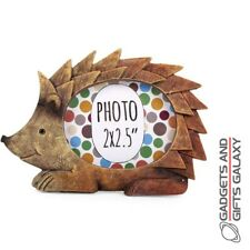 Small Hedgehog Photo Picture Frame Children Nursery Bedroom Home Decor Kids