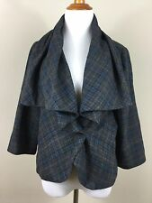 CAbi womens cardigan 10 jacket long sleeve drape shawl collar free ship lined