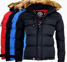 Geographical Norway Herren Winter Jacke SteppJacke Outdoor Parka Warme Bonap
