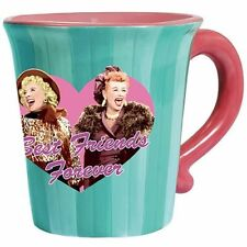 I Love Lucy-Best Friends Forever CeramicCoffee Mug-New in Box
