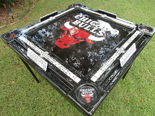 Chicago Bulls Domino Table & we will put your name by Domino Tables by Art