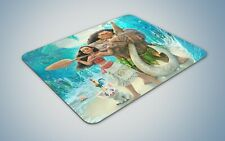 Moana mouse mat pad non slip novelty gift gaming pc disney maui dwayne johnson