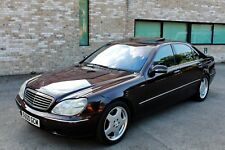 MERCEDES-BENZ S CLASS S500 / ONE OWNER FROM NEW / MERCEDES HISTORY / LONG MOT