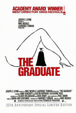 The Graduate (1967) Original Video Movie Poster - 25Th Anniversary - Rolled