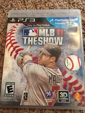 Sony PlayStation 3 MLB THE SHOW 11 Video Game in jewel case PS3 Joe Mauer Cover
